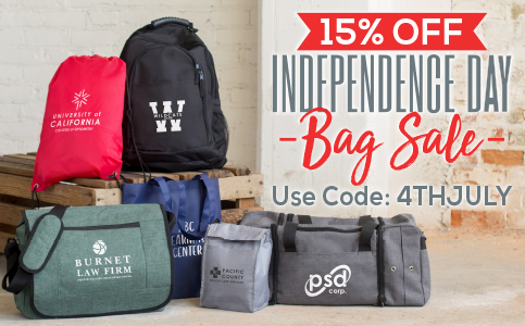 15% Off Independence Day Bag Sale
